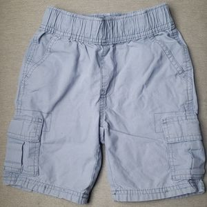 Gray Boy Cargo Shorts